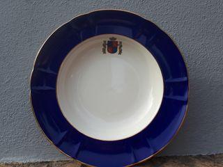 plato escudo de España