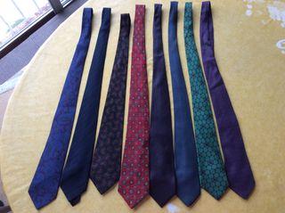 8 corbatas en lote o por separado