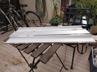 Baldas de aluminio