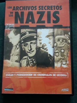 Dvd los archivos secretos de los nazis