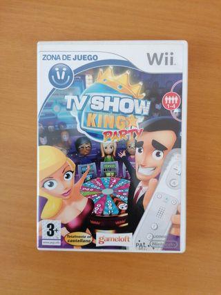 Juego TV Show King Party para Wii