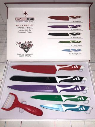 Juego de cuchillos SWISS TOUCH
