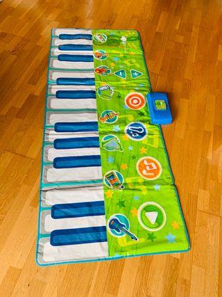 Piano de suelo electrónico