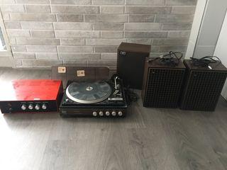 Tocadiscos Bettor EF-143 Dual 1234