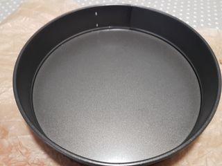 Molde pastel desmontable 30 cm diámetro