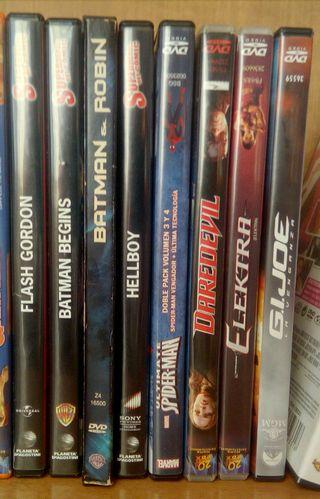 Pack de 8 películas de súper héroes - D.V.D