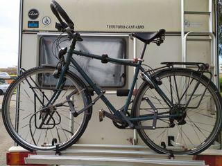 bicicleta de cicloturismo tope gama