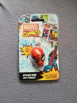 Llavero spiderman con luz