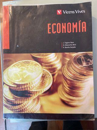 Libro Bachillerato Economía