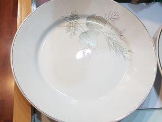 Platos de Porcelana San Claudio