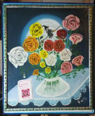 cuadros óleos y acrílicos originales