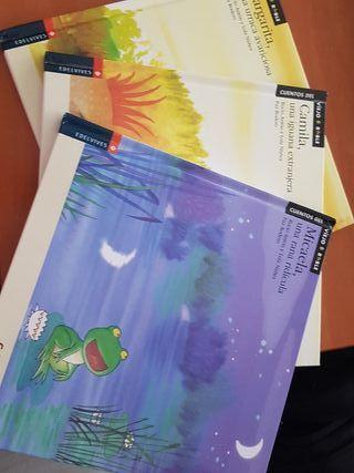 Lote 3 libros infantiles con iconos