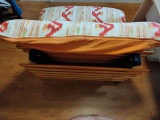 FUTON. Sofá cama individual