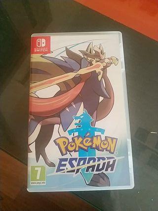 Pokemon espada Nintendo switch