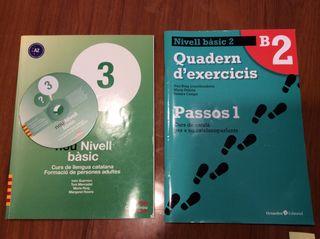 Curso catalán adultos. Libro+cuaderno+CD