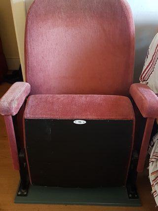 Authentic Cinema Seat Renoir Cinema London