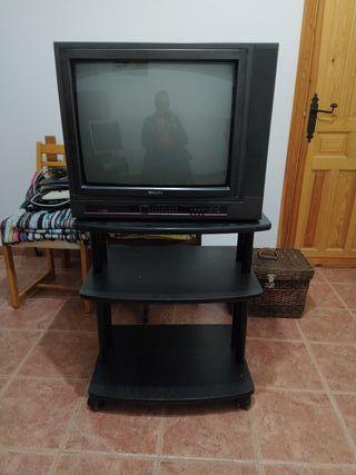 Vintage. Televisor Philips. Color