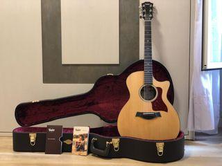 Guitarra electroacustica Taylor 514ce