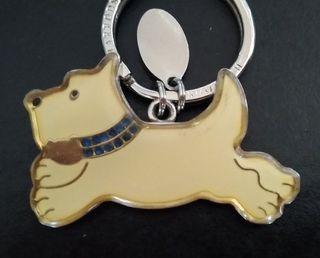Llavero Terrier Harrods (Westie Scottie) original