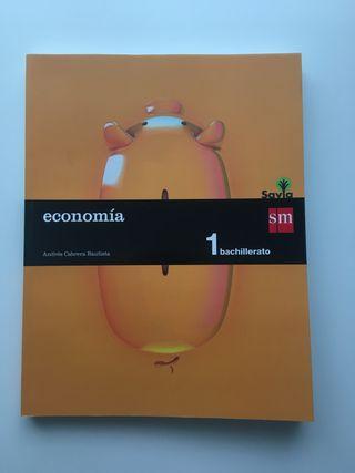 NUEVO Economía 1ºBachillerato SM