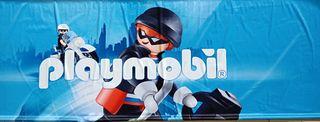 PLAYMOBIL 7 PANCARTAS GRANDES TOYSRUS EXPOSICION