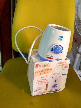 calienta biberón esterilizado y termo
