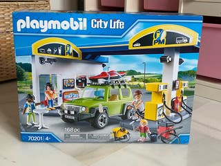 Gasolinera Playmobil