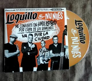 LOQUILLO y Nu Niles PROMO CD Single Código Rocker
