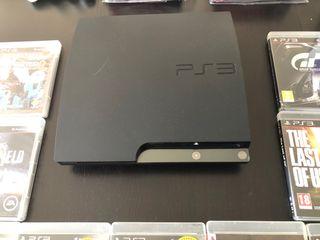 Ps3 slim 120 gb + juegos, en perfecto estado