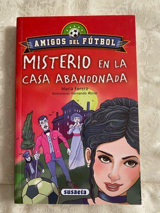 Libro Misterio en la casa abandonada nuevo