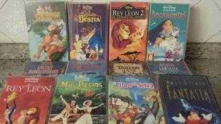 Películas VHS Walt Disney