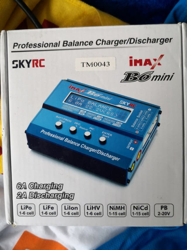 Cargador LiPo Imax B6 mini