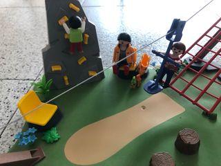 Playmobil 4015 tirolina parque completo