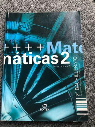 Matemáticas 2 Bachillerato. Editex