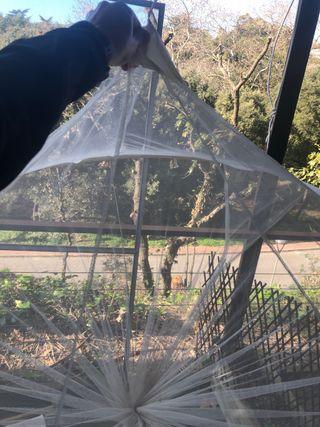 Mosquitera de jardín