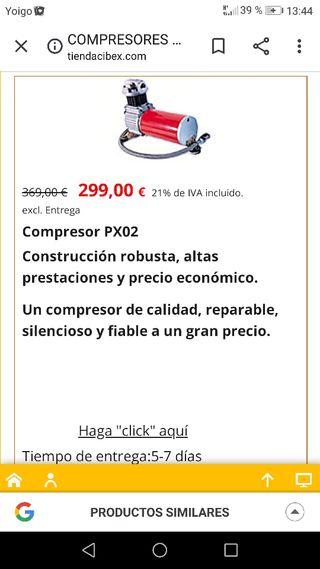 compresor cibex para 4x4
