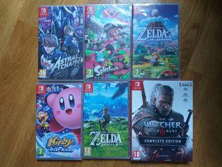 Juego nuevo Nintendo Switch