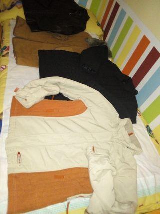 Lote ropa ,, abrigos,, mujer, talla L. TODO 9€