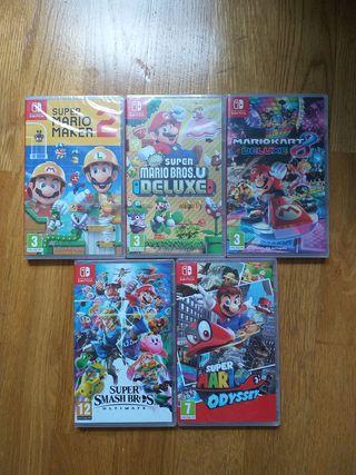 Juego Nuevo Mario Nintendo Switch