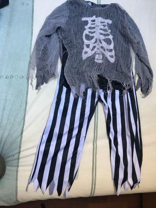 Disfraz pirata halloween