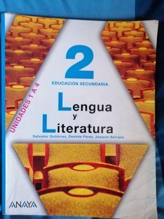 × Pack de 3 Libros de Texto de LENGUAJE [ 2° ESO ]