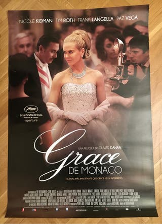 Poster cine Grace de Monaco. Nicole Kidman