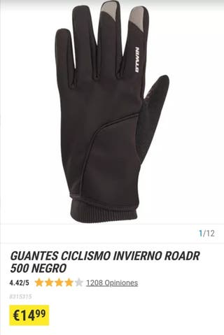 guantes ciclismo invierno