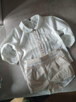 Traje bebé bautizo