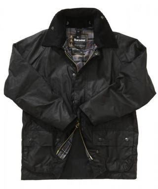 Barbour Bedale negro talla M