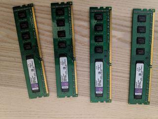 memoria ram DDR3 kingstone kit 32GB (4*8) 1600(