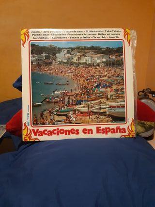 LP Vinilo Vacaciones en españa
