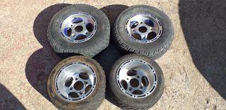 Llantas de asfalto de Quad