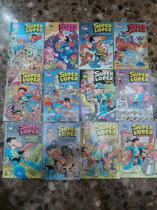 lote comics superlopez