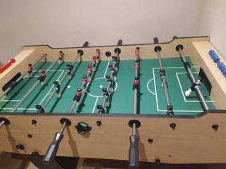 Futbolín plegable 140 x 75 cm